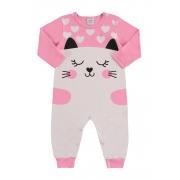 Macacão de malha bebê - Marlan 20477