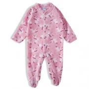Pijama macacão Bebê Feminino - Tip Top - 1830408