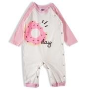 Pijama macacão Bebê Feminino - Tip Top - 1838101