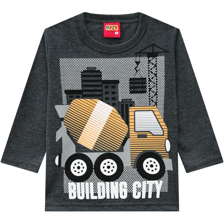 Camiseta infantil masculina - Kyly - 207426