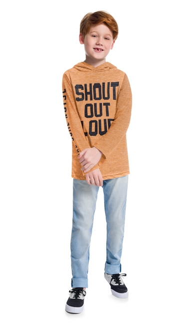 Camiseta infantil masculina - Kyly - 207480