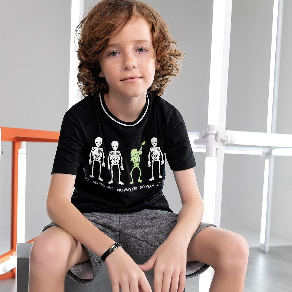 Camiseta infantil masculina - Lemon - 81108