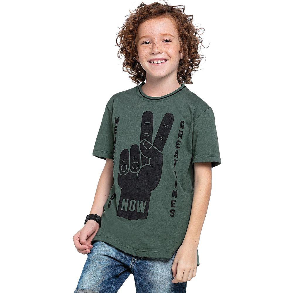 Camiseta infantil masculina - Lemon - 81110