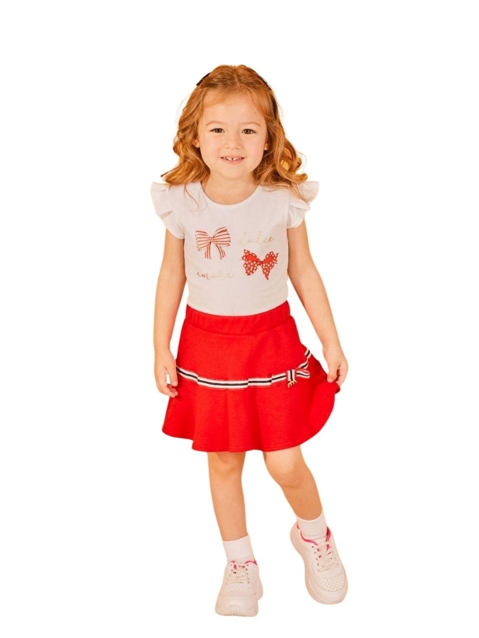 Conjunto infantil feminino - Milli e Nina - 47190