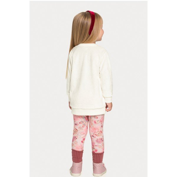 Conjunto infantil feminino - Alakazoo - 67475