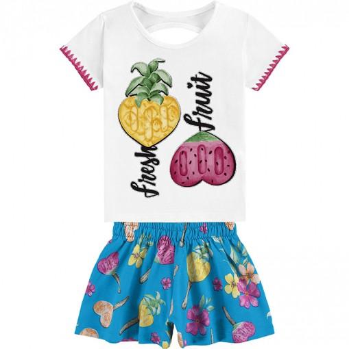Conjunto infantil feminino - Kyly - 110872