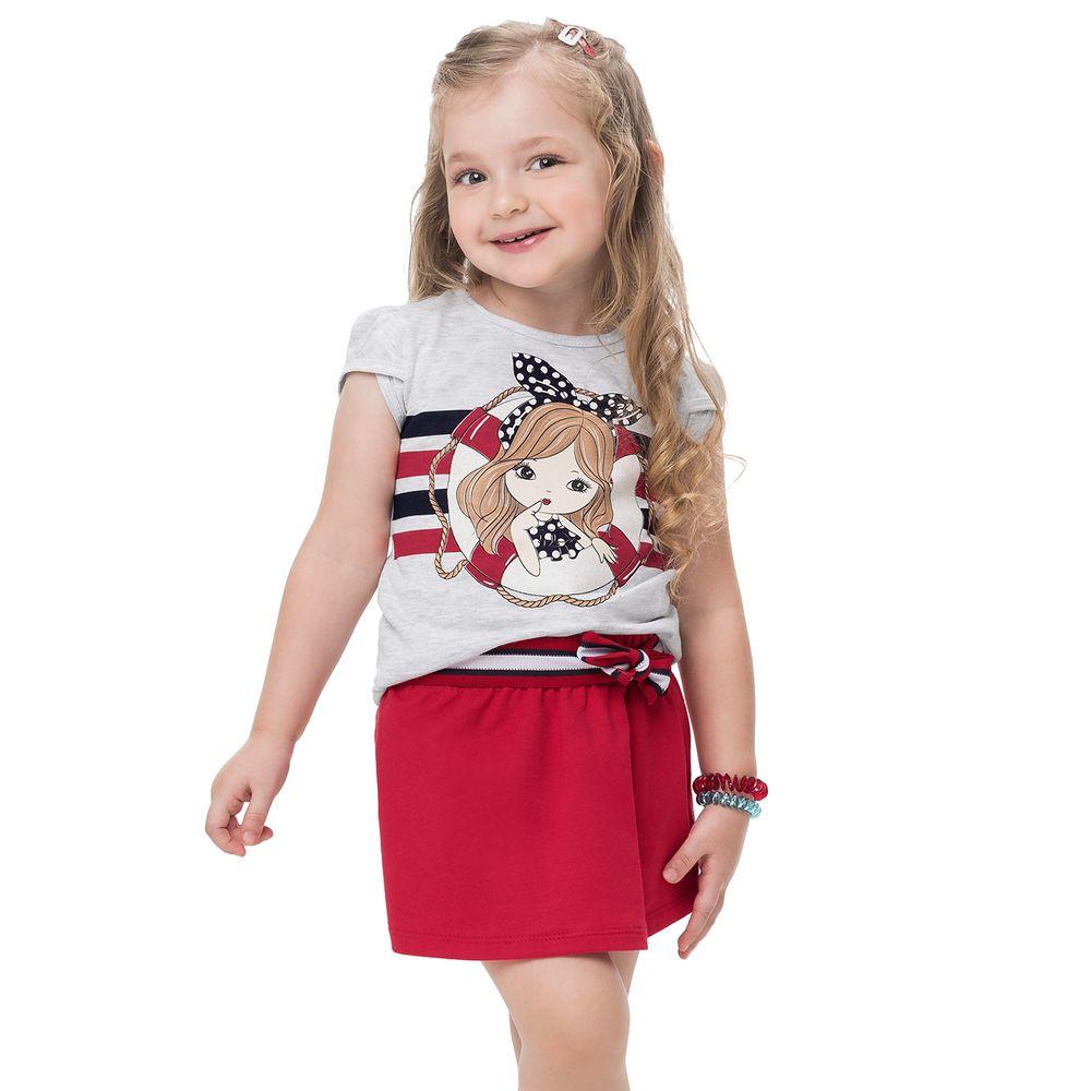 Conjunto infantil feminino - Kyly - 110900
