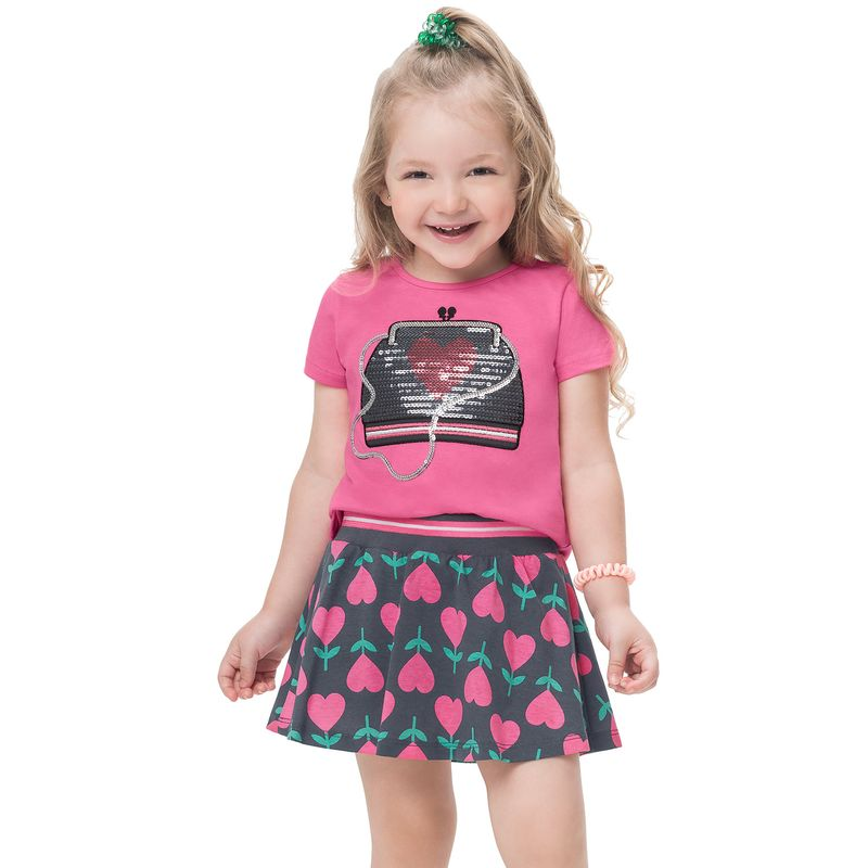 Conjunto infantil feminino - Kyly - 110903