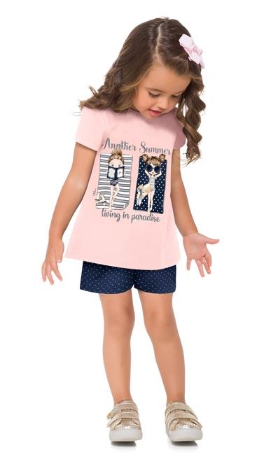 Conjunto infantil feminino - Milon - 13192