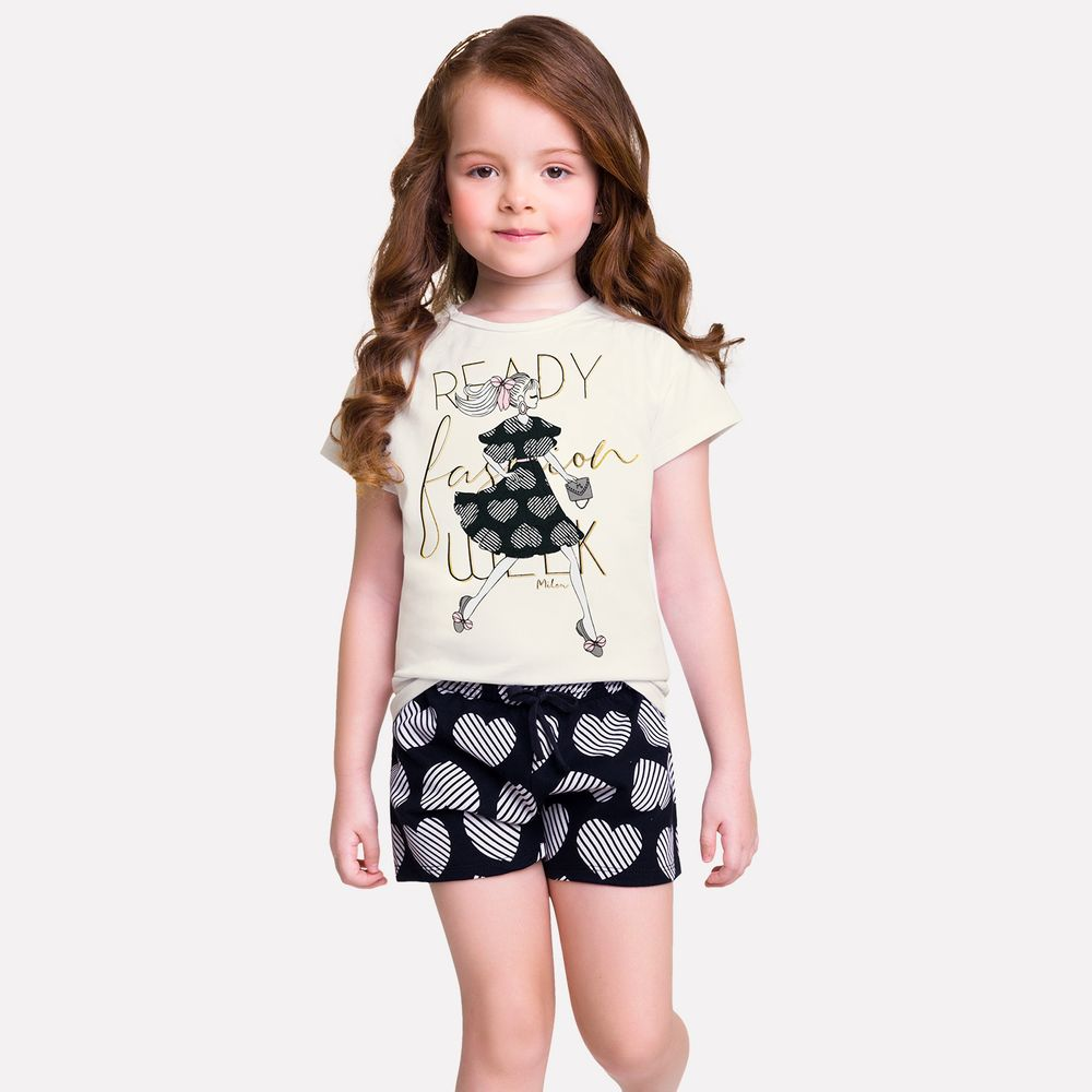 Conjunto infantil feminino - Milon - 13211