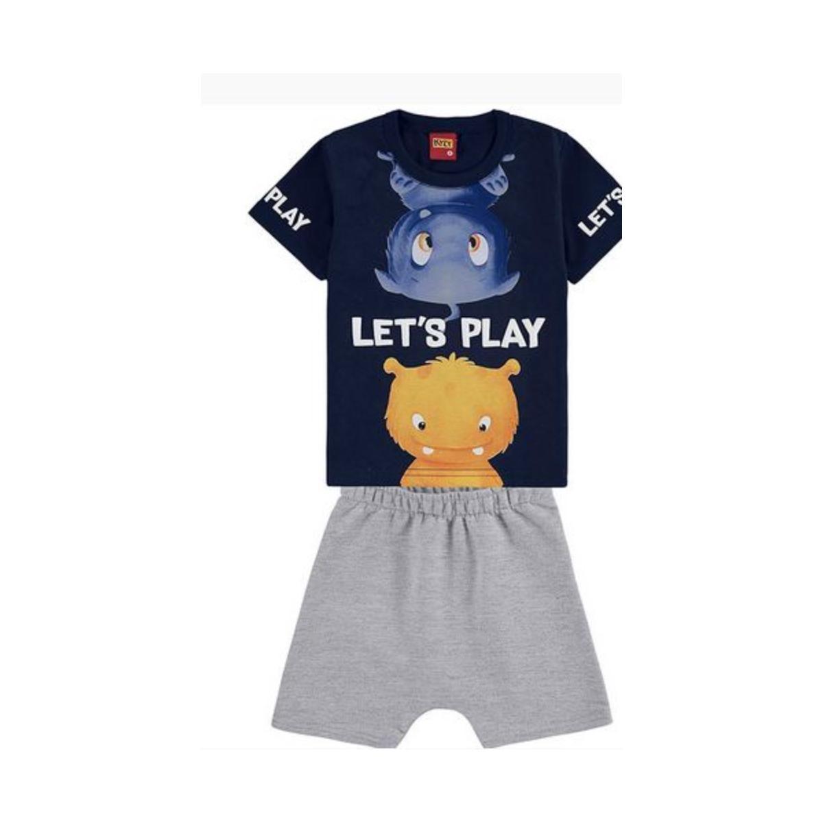 Conjunto infantil masculino - Kyly- 110951