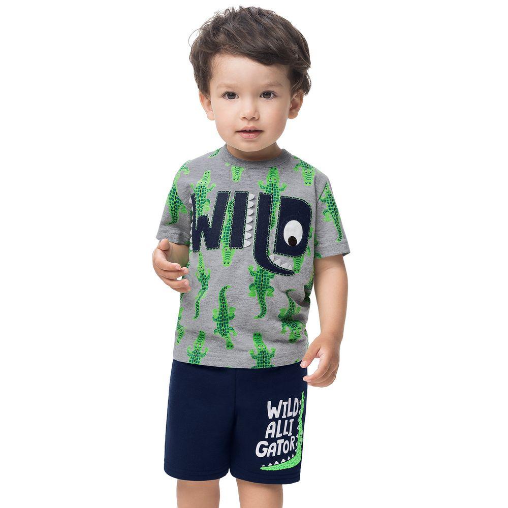 Conjunto infantil masculino - Kyly- 110954