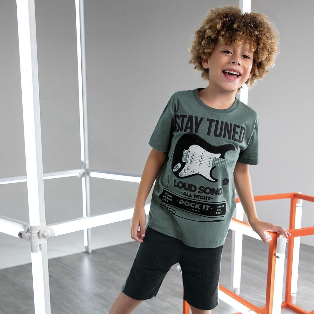 Conjunto infantil masculino - Lemon Kids - 81134