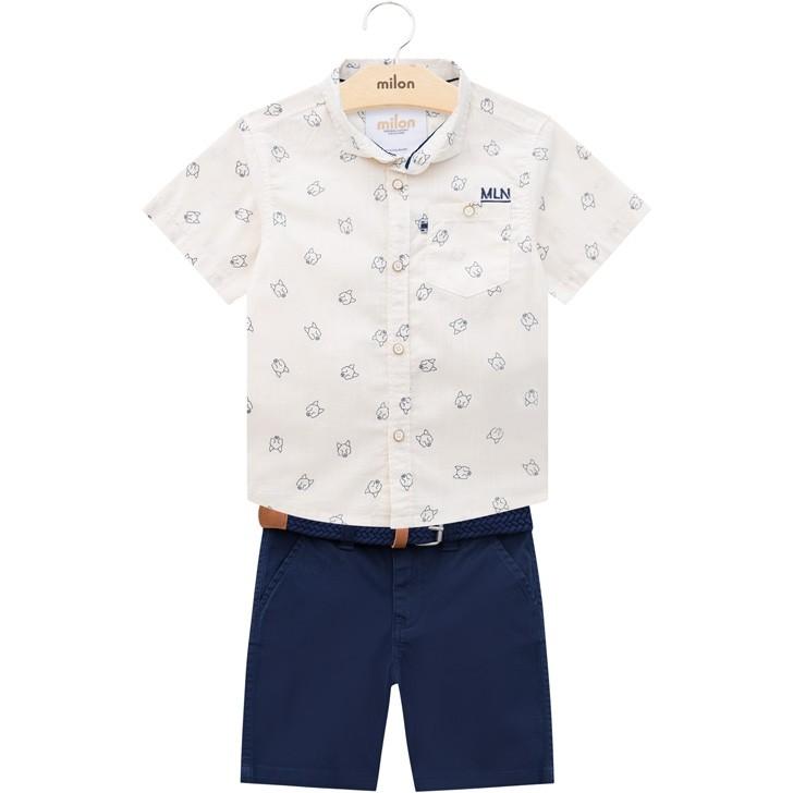Conjunto Masculino Infantil Classic Social - Milon - 12765