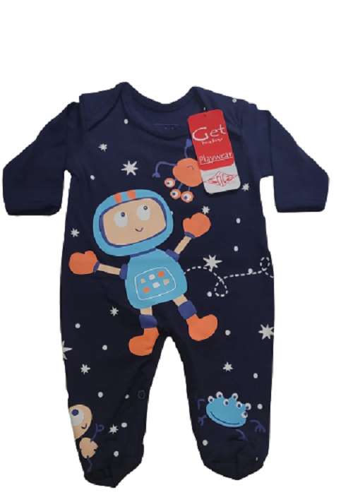 Macacao infantil masculino - Get Baby - 111011