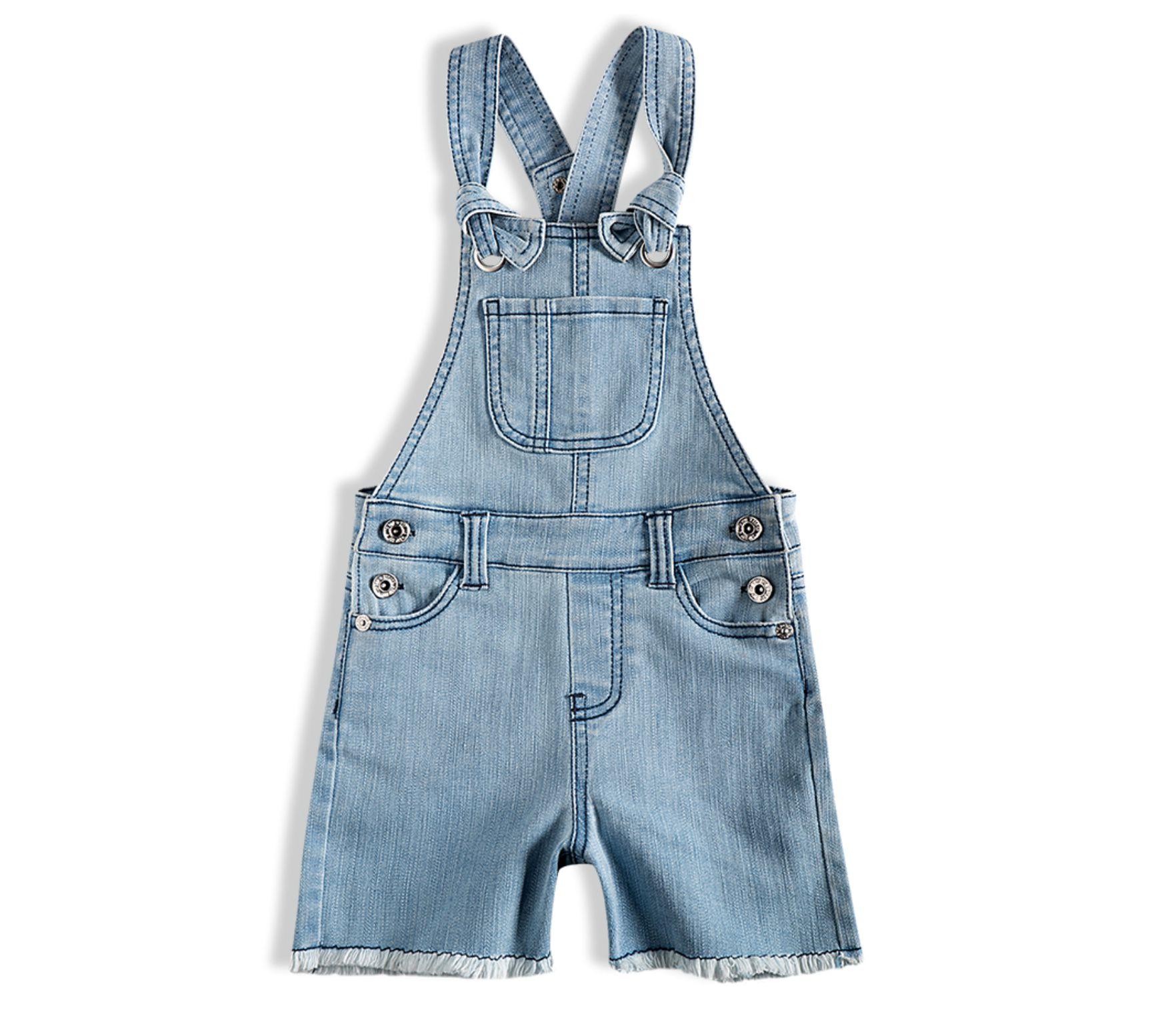 Jardineira bebê jeans - Tip Top - 13500100