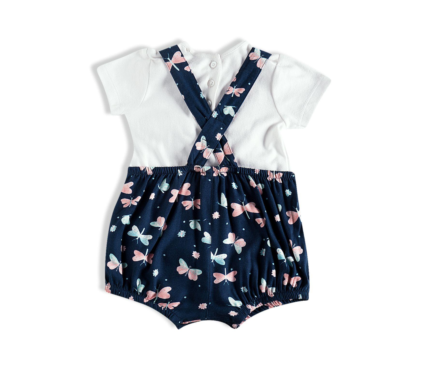 Jardineira - Salopete bebê - Tip Top - 13500101