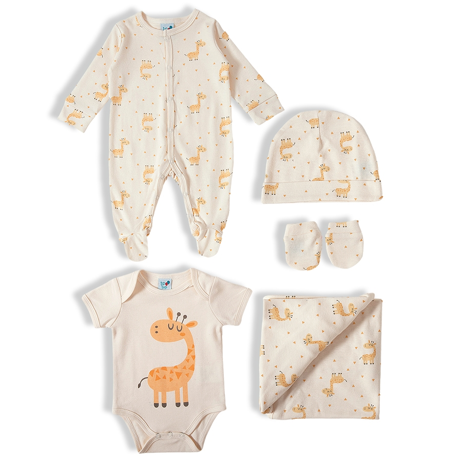 Kit Saída Maternidade 5 peças - Tip Top - 11509170