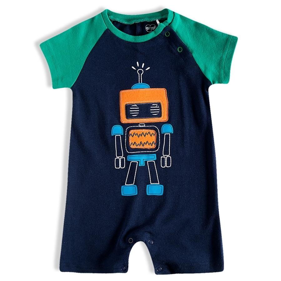 Macacao bebê masculino - Tip Top - 10209206