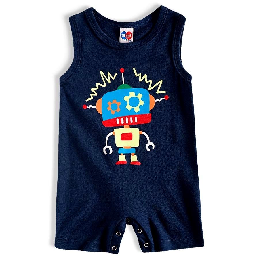 Macacao bebê masculino - Tip Top - 10409161