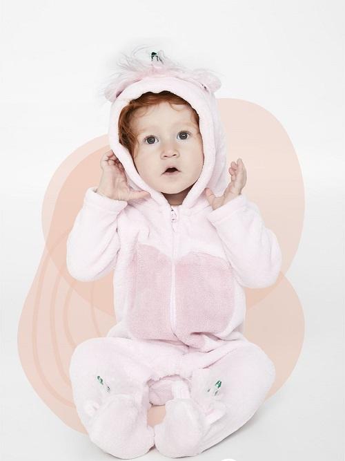 Macacao bebê soft com capuz - Tip Top - 1012060