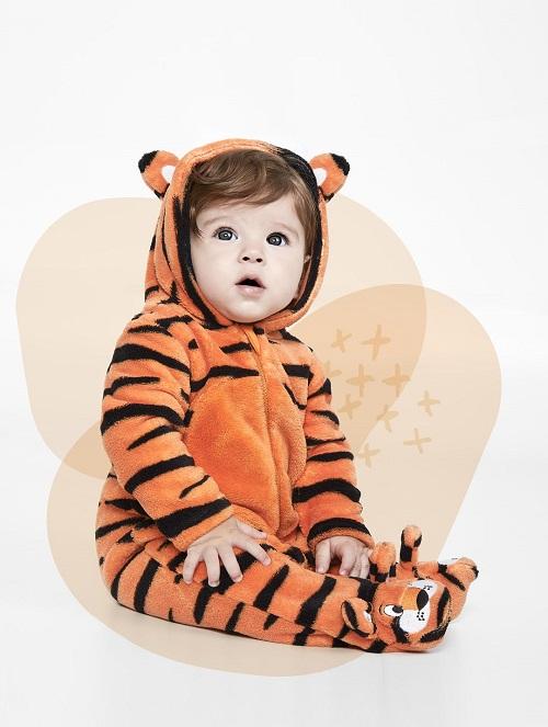 Macacao infantil soft com capuz - Tip Top - 2012067k