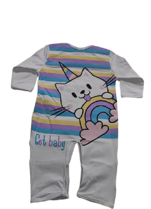 Macacao infantil feminino - Get Baby - 111000