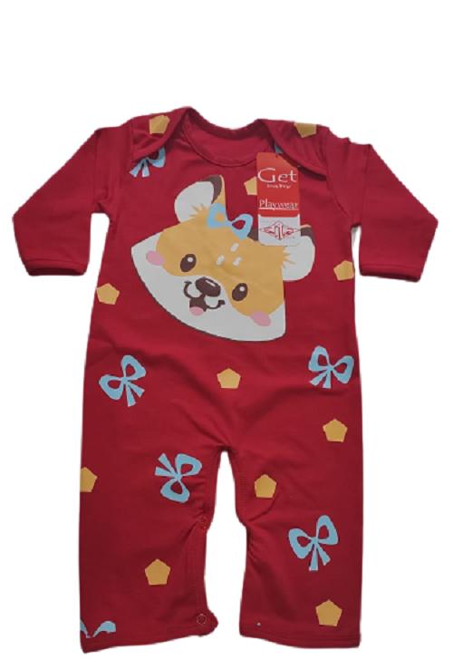 Macacao infantil feminino - Get Baby - 111006