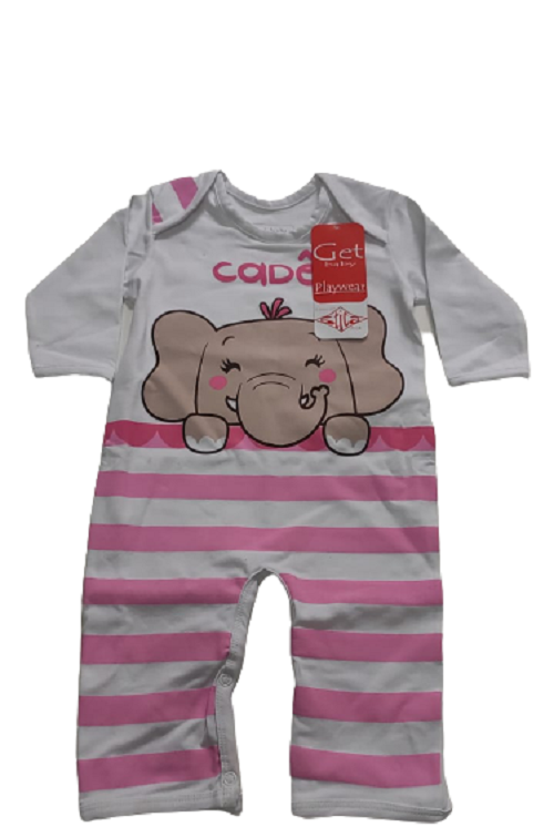 Macacao infantil feminino - Get Baby - 111010
