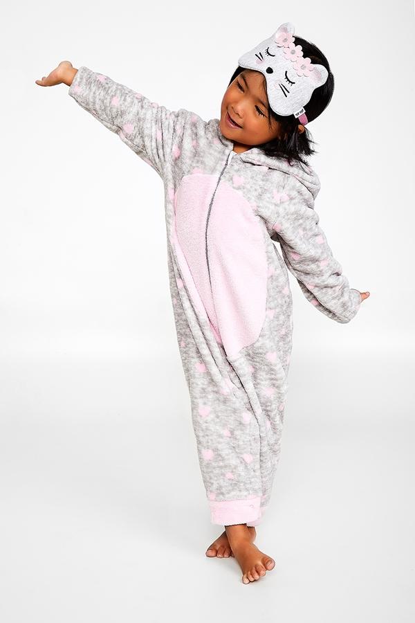 Macacao infantil soft com capuz - Tip Top - 3012063