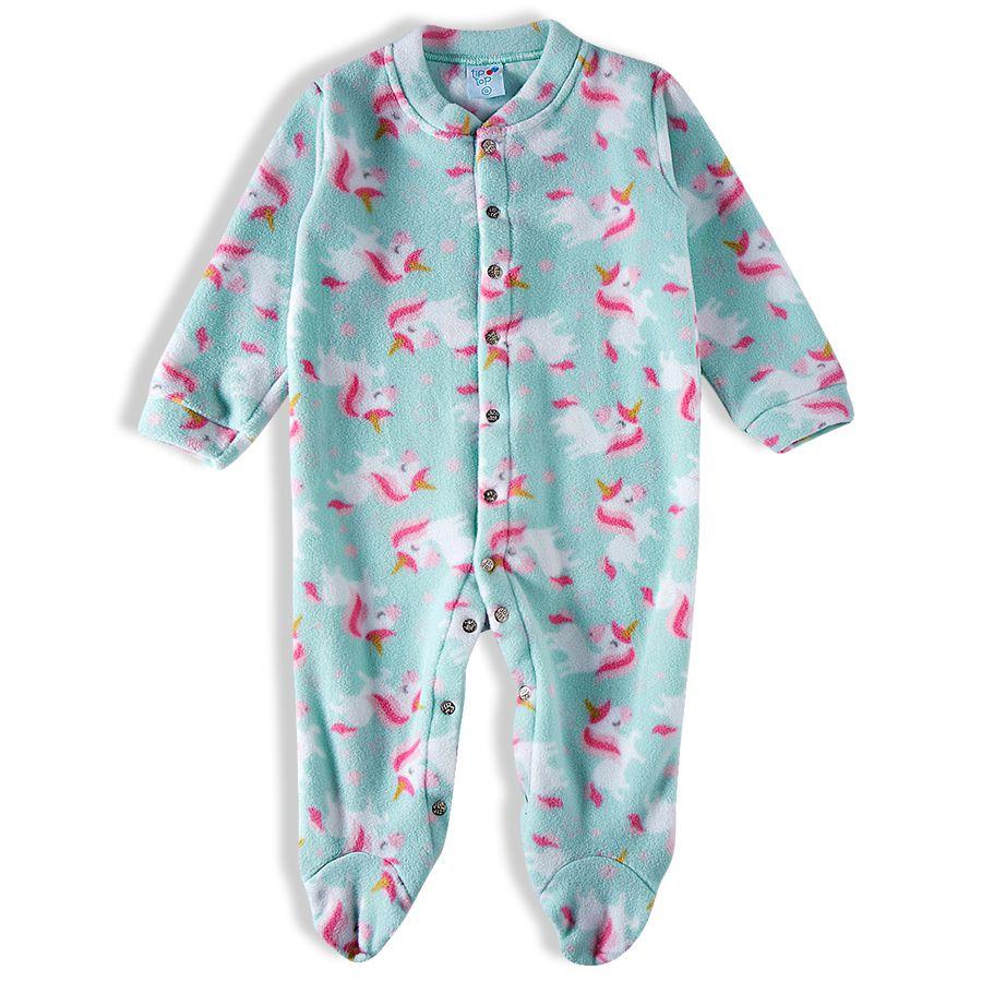 Macacao infantil soft feminino - Tip Top - 1832127