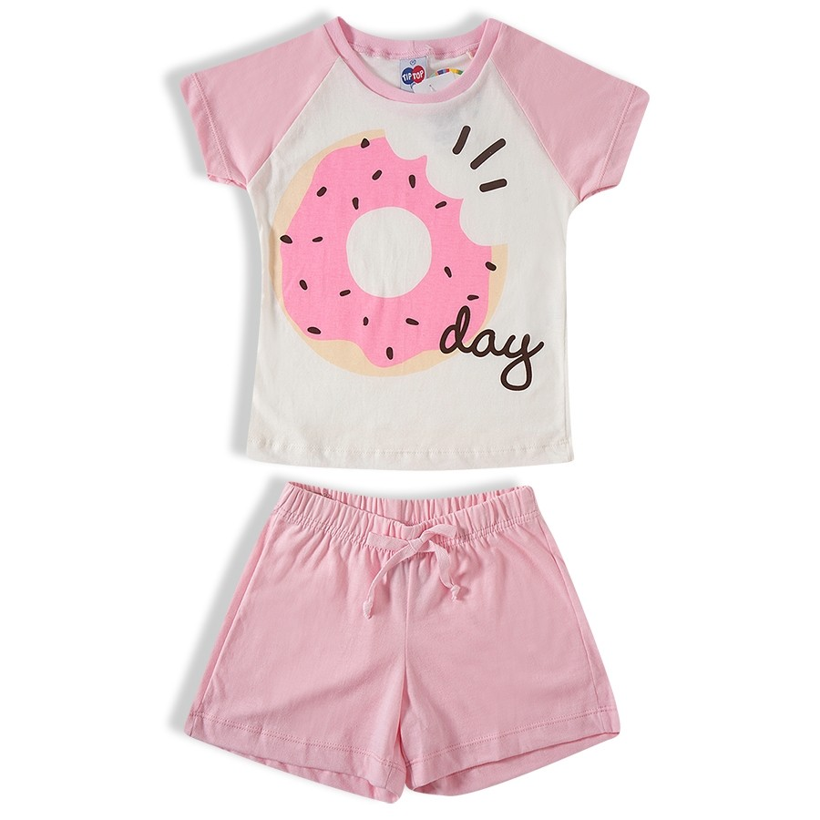 Pijama curto Feminino Tip Top - 21481281k
