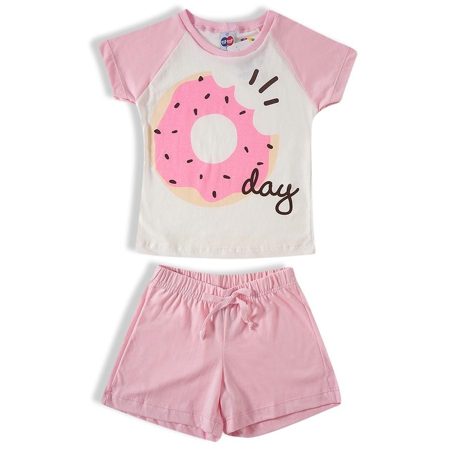 Pijama curto Feminino Tip Top - 31481281