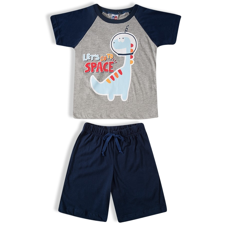 Pijama curto masculino Tip Top - 21481283k