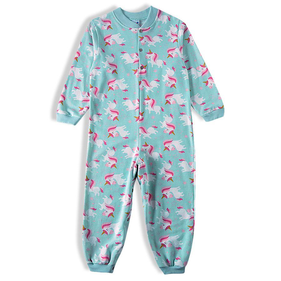 Pijama macacão Bebê Feminino - Tip Top - 2830408k