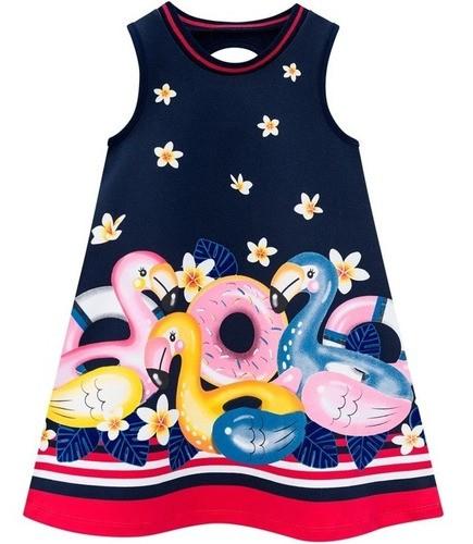 Vestido Azul Marinho Floral - Kyly -110464