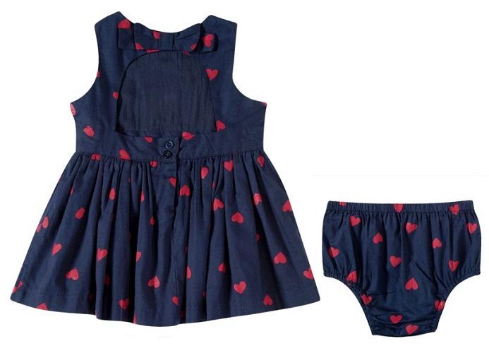 Vestido Bebê Com Calcinha - Tip Top - 13200355