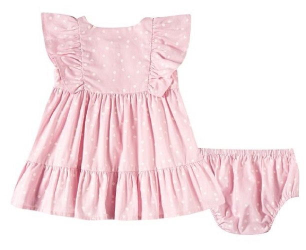 Vestido Bebê Com Calcinha - Tip Top - 13200356