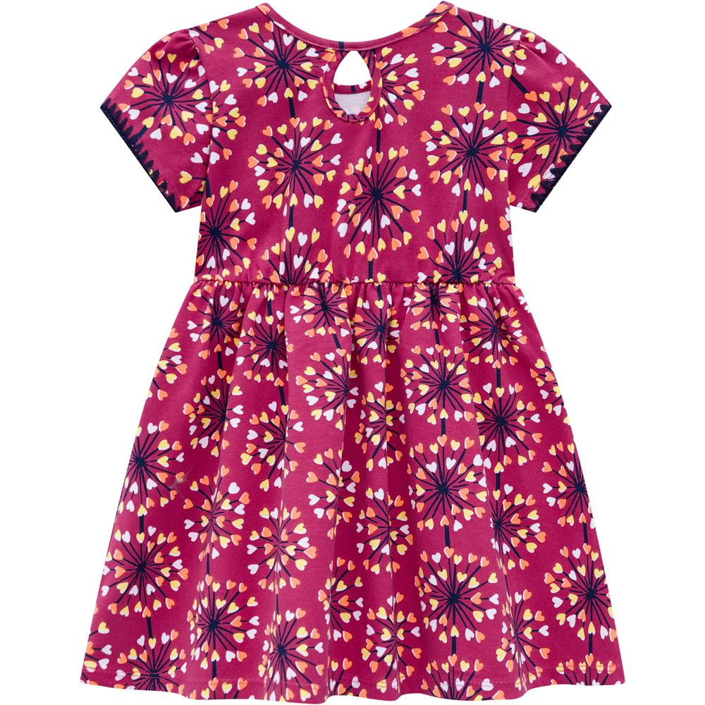 Vestido Estampa Floral- Kyly - 110218