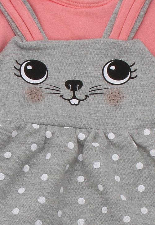 Vestido infantil feminino - Alakazoo - 60859