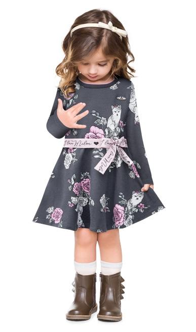Vestido infantil - Milon - 12926