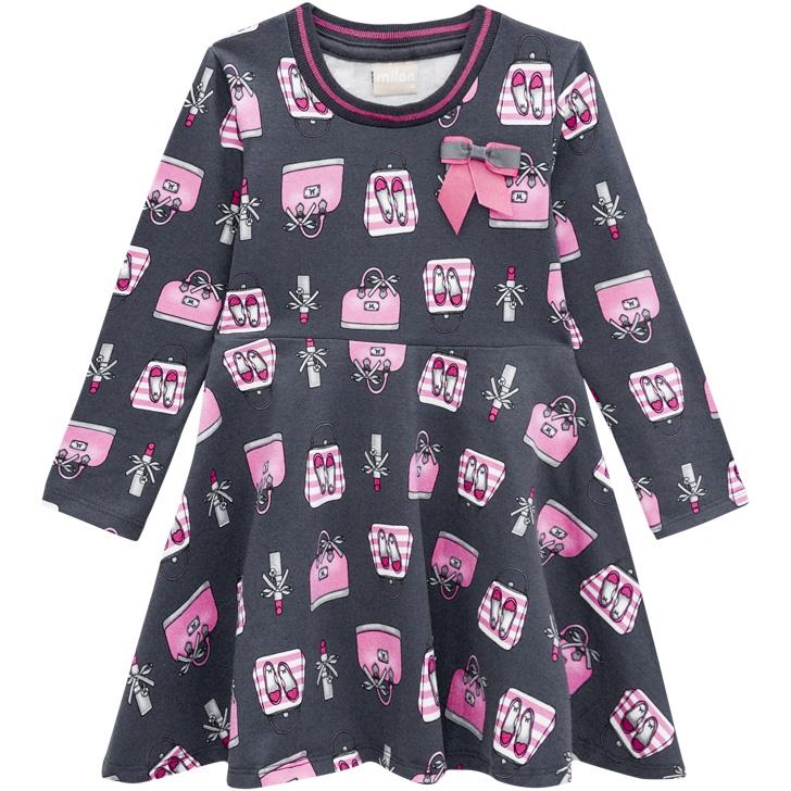 Vestido infantil - Milon - 12961