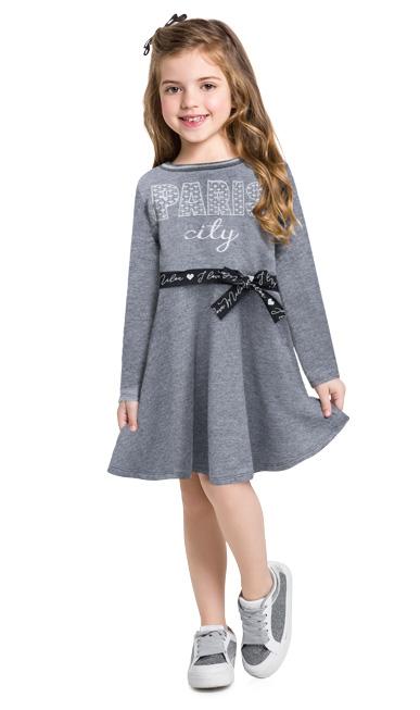 Vestido infantil - Milon - 12982