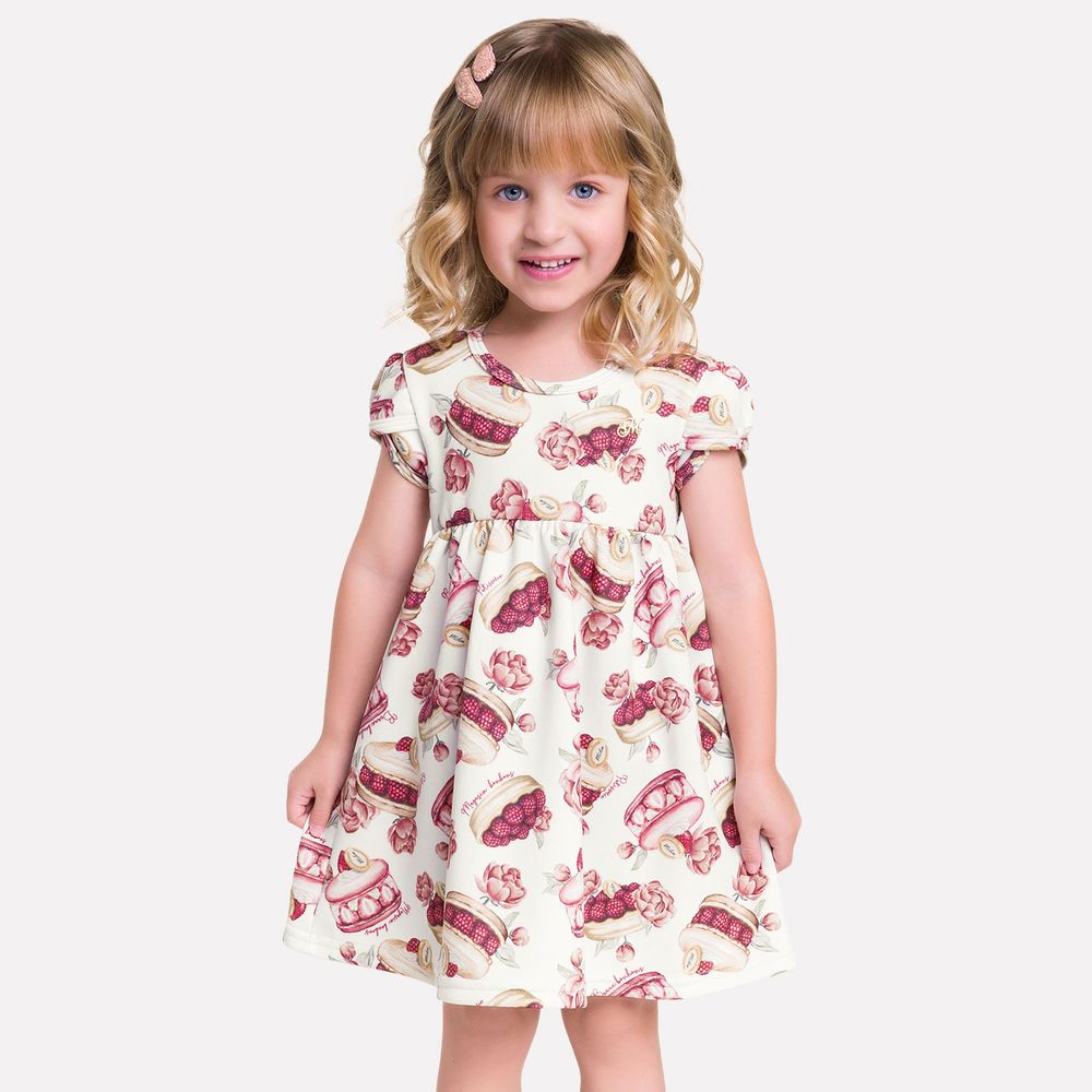 Vestido infantil - Milon - 13193