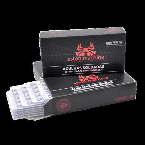 AGULHA ASTON PINTURA RS .12 (CX C/ 50) - 1215RS