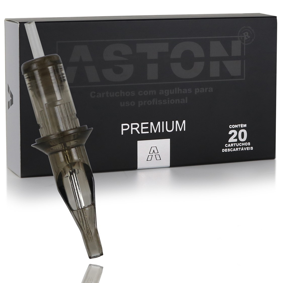 CAIXA CARTUCHO ASTON PREMIUM PINTURA MR (20 UN) - 1023MR