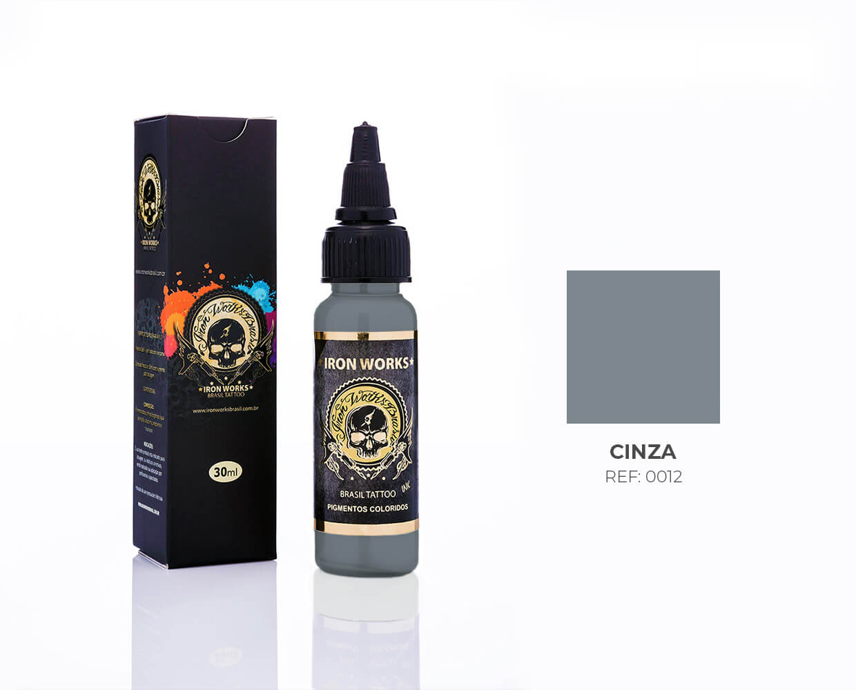 IRON WORKS CINZA 30ML