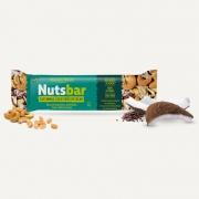 NUTS BARRA CASTANHA COCO E NIBS (cx. com 12 unidades)