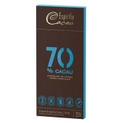 Tablete chocolate 70% cacau  - 80g - caixa c/ 10 un.
