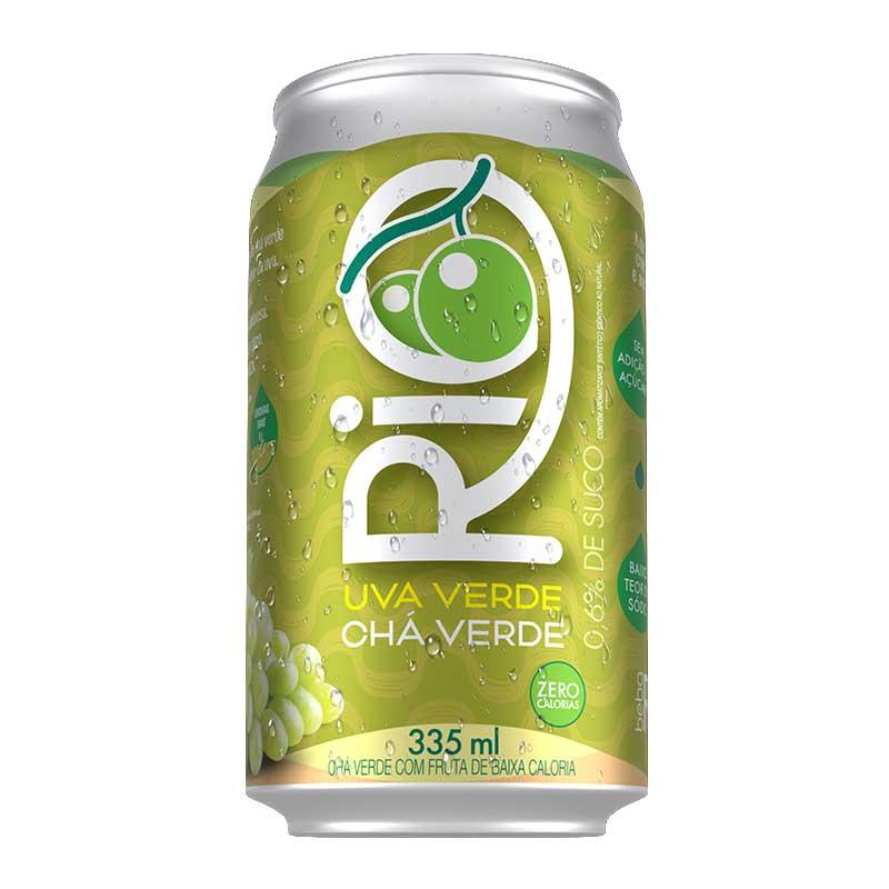 RIO CHA UVA VERDE LATA 335 ml (cx. com 6 unidades)